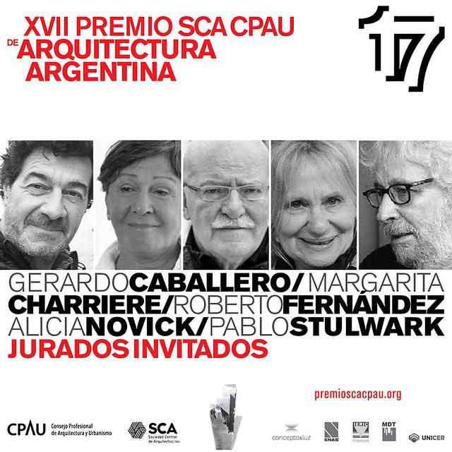 XVII Premio SCA CPAU de Arquitectura y Urbanismo 2018 | Jurados