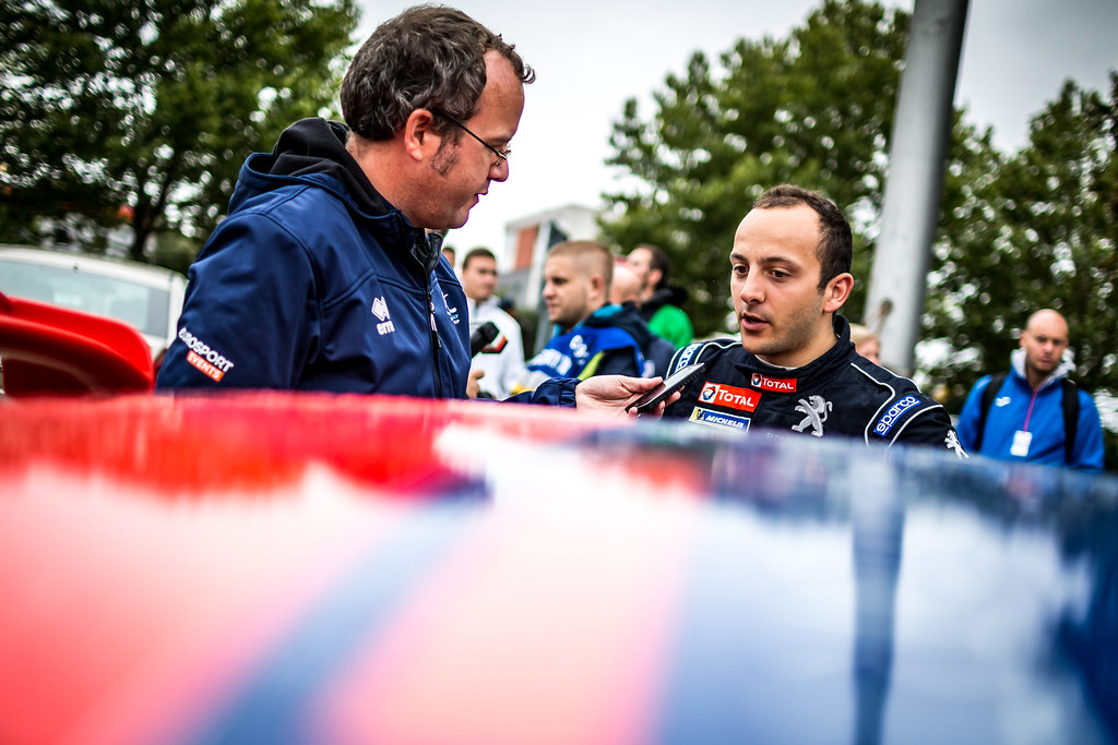 Pellier Laurent, FRA, Peugeot Rally Academy, Peugeot 208 T16 R5, Portrait during the 2018 European Rally Championship ERC Barum rally,  from August 24 to 26, at Zlin, Czech Republic - Photo Thomas Fenetre / DPPI