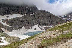 Le lac de l'Eychauda (2514m)