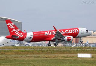 F-WWDE Airbus A320 Air Asia
