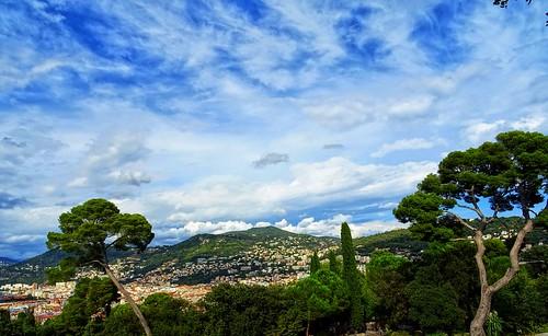 collines ciel nuages skyscape landscape nice côtedazur
