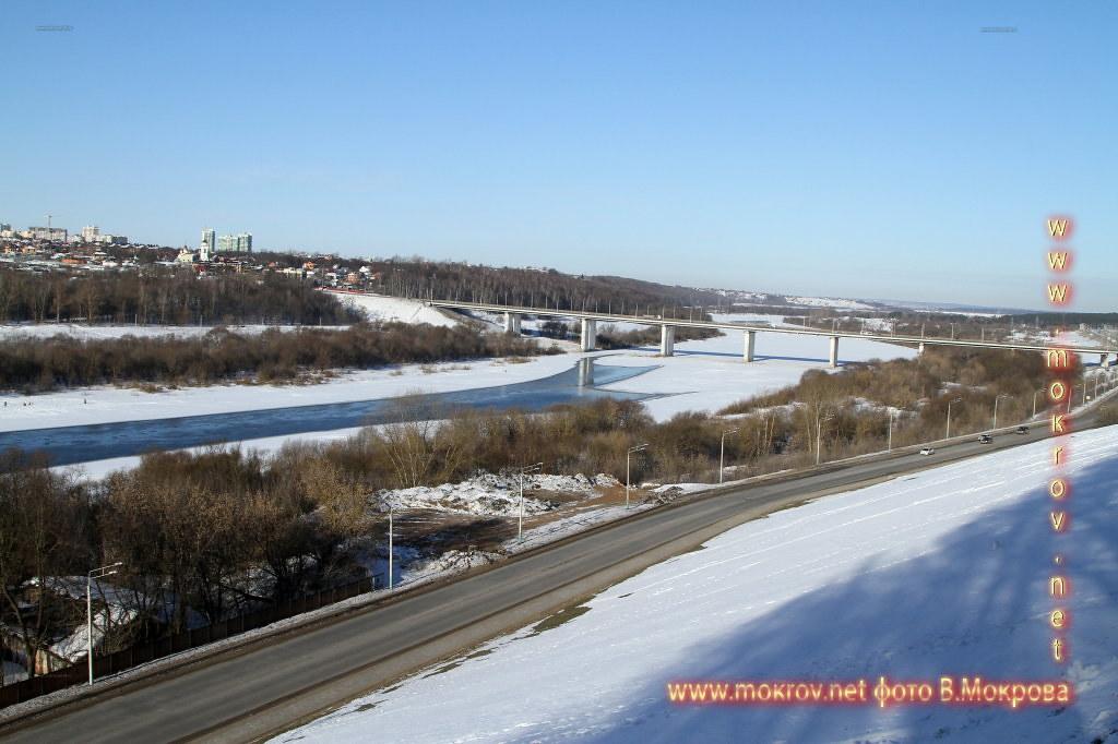 Фотография реки Ока смотровая плашадка Калуга