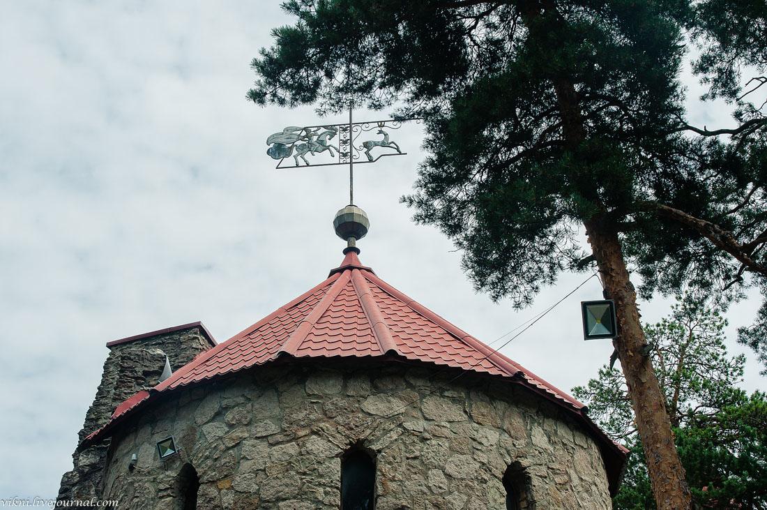 Андерсенград, пляж и другие интересные места Соснового Бора. ленинградская область