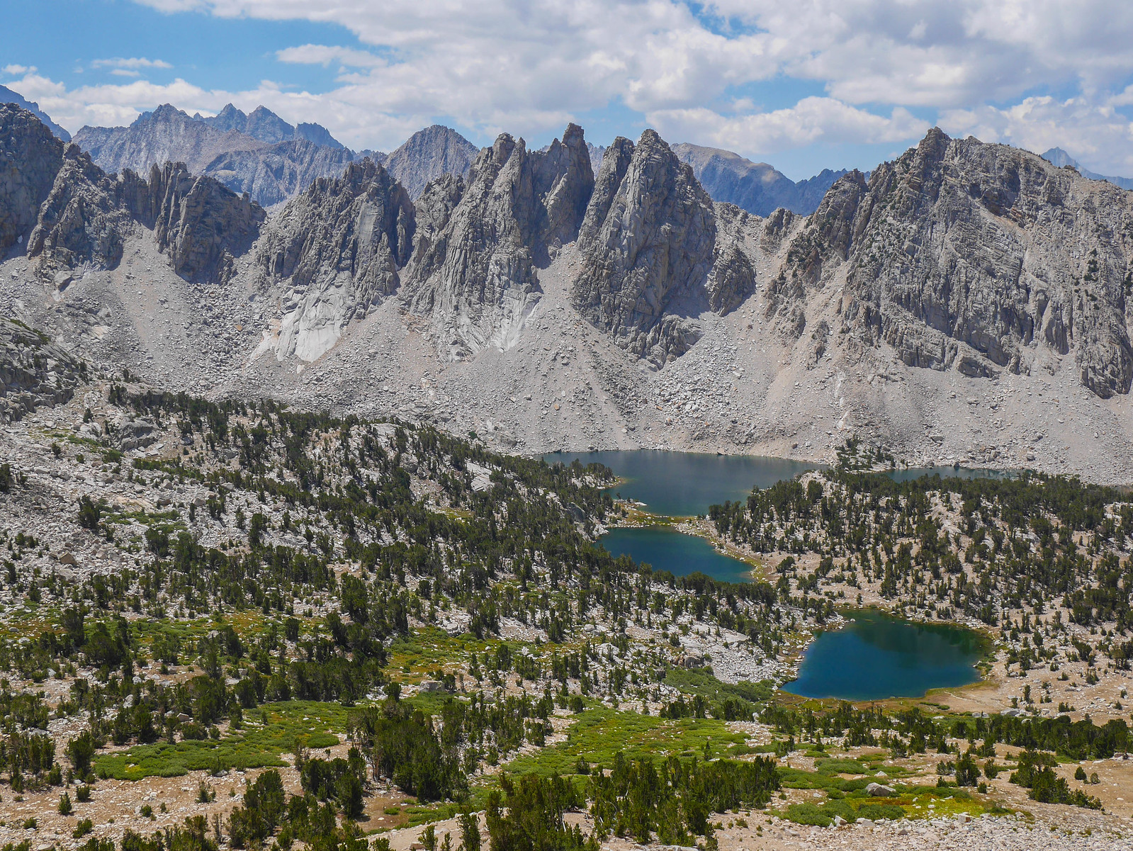 Kearsarge Pinnacles and Lakes
