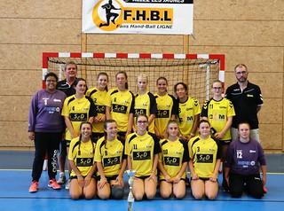 U17F Tournoi 2018 - NAHB - Carquefou - Challans