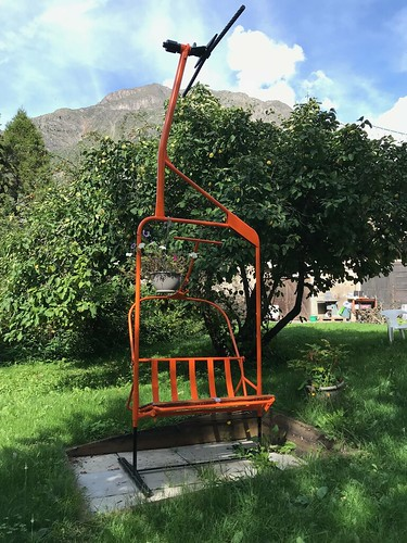 Un siège dans le jardin