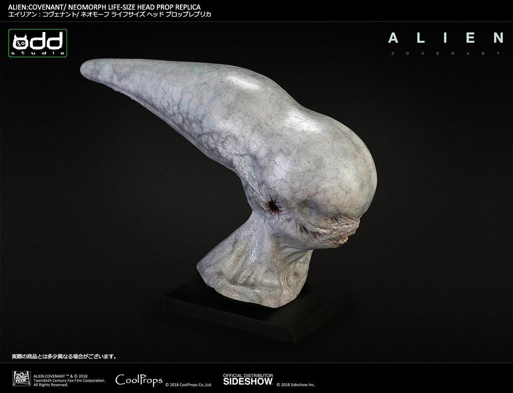 你可以盯著他的嘴巴看超過10秒鐘嗎XD~ CoolProps《異形:聖約》異形 Alien: Covenant Neomorph 1:1 比例頭像道具複製品