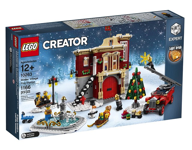 10263 Winter Village Fire Station 1