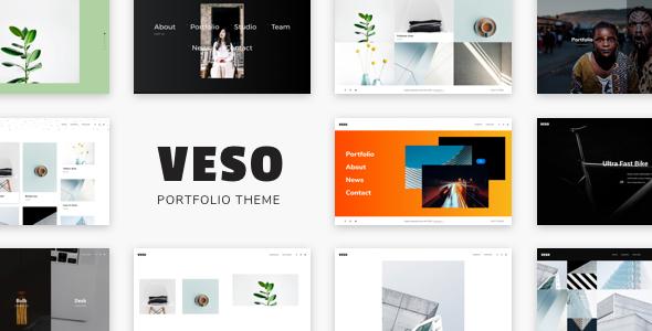 Veso v1.0.3 – Multipurpose Portfolio Theme