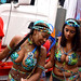 DSC_8481a Notting Hill Caribbean Carnival London Exotic Colourful Costume Girls Dancing Showgirl Performers Aug 27 2018 Stunning Ladies