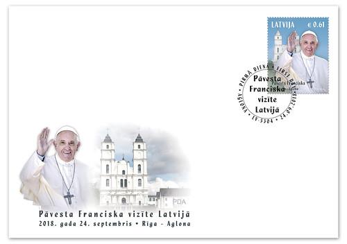 Aploksne Pāvesta vizīte Latvijā