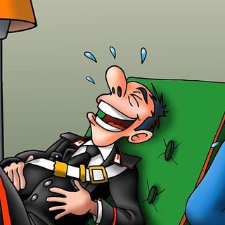 Una vignetta di Antonio Mariella