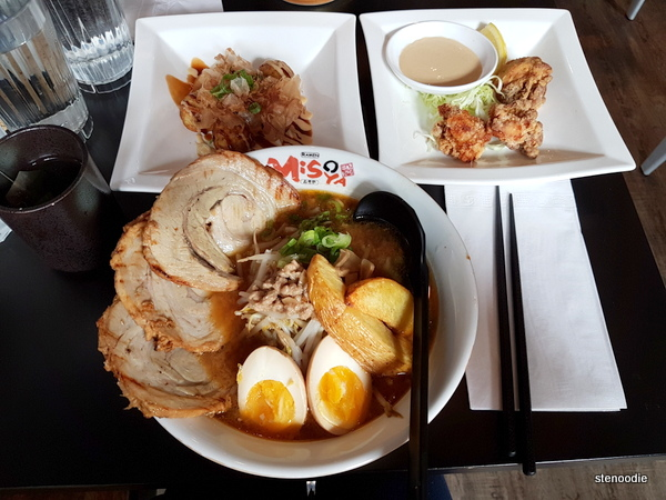 Ramen Misoya Toronto food reviews