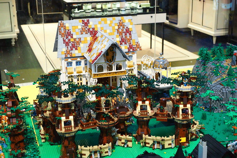 Largest LEGO Castle Display in Singapore