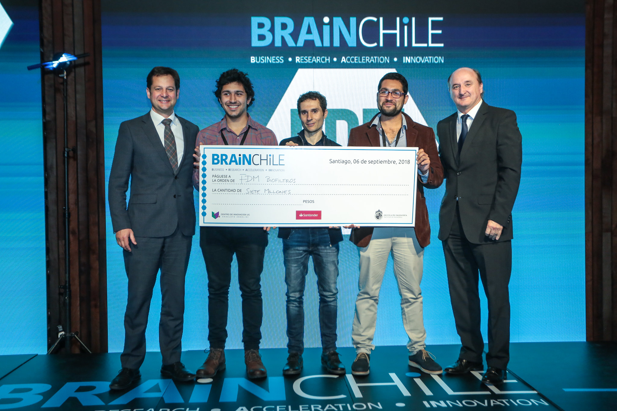 Ceremonia de Premiación - Brain Chile 2018