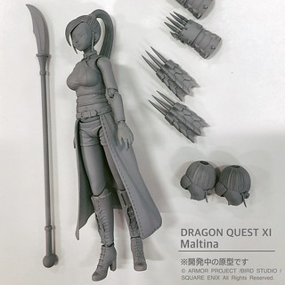 "BRING ARTS ""Dragon Quest XI"" Jade prototype revealed!"