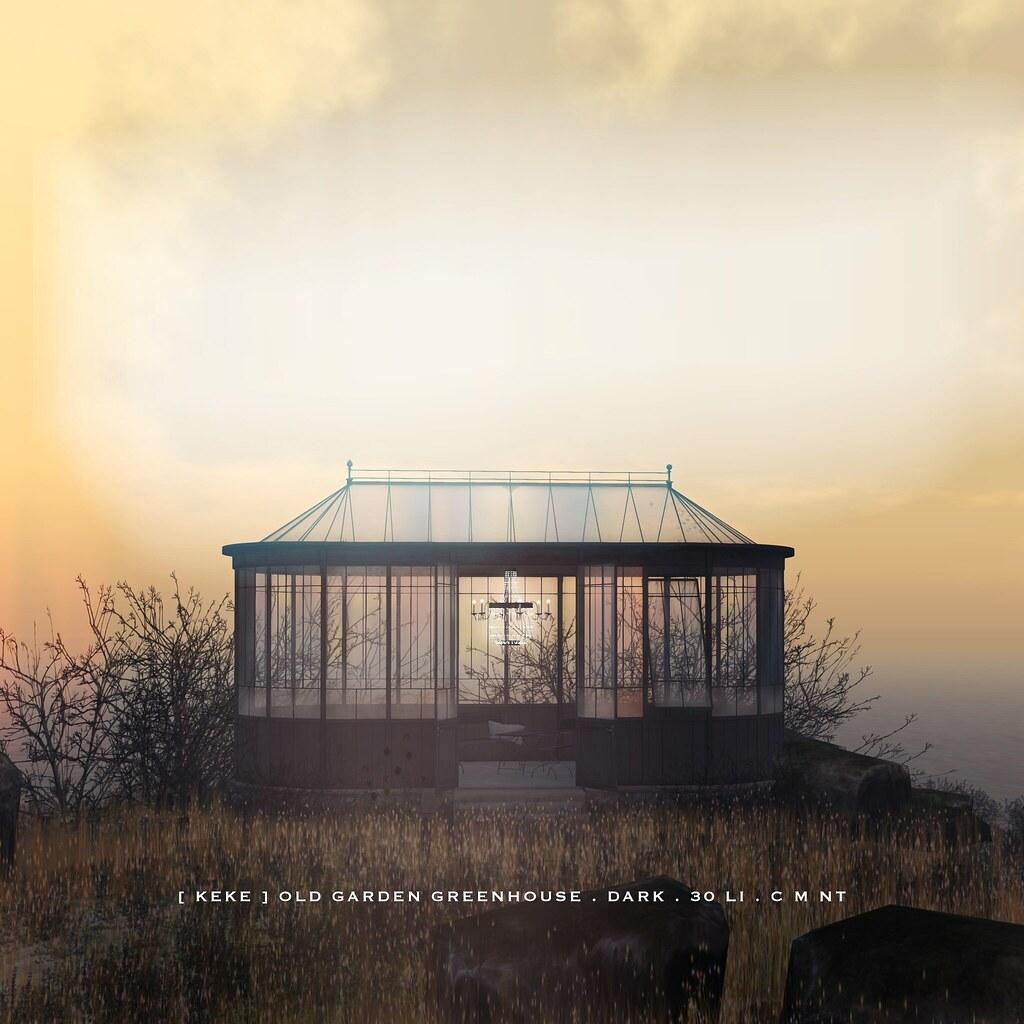 [ keke ] old garden greenhouse dark - TeleportHub.com Live!