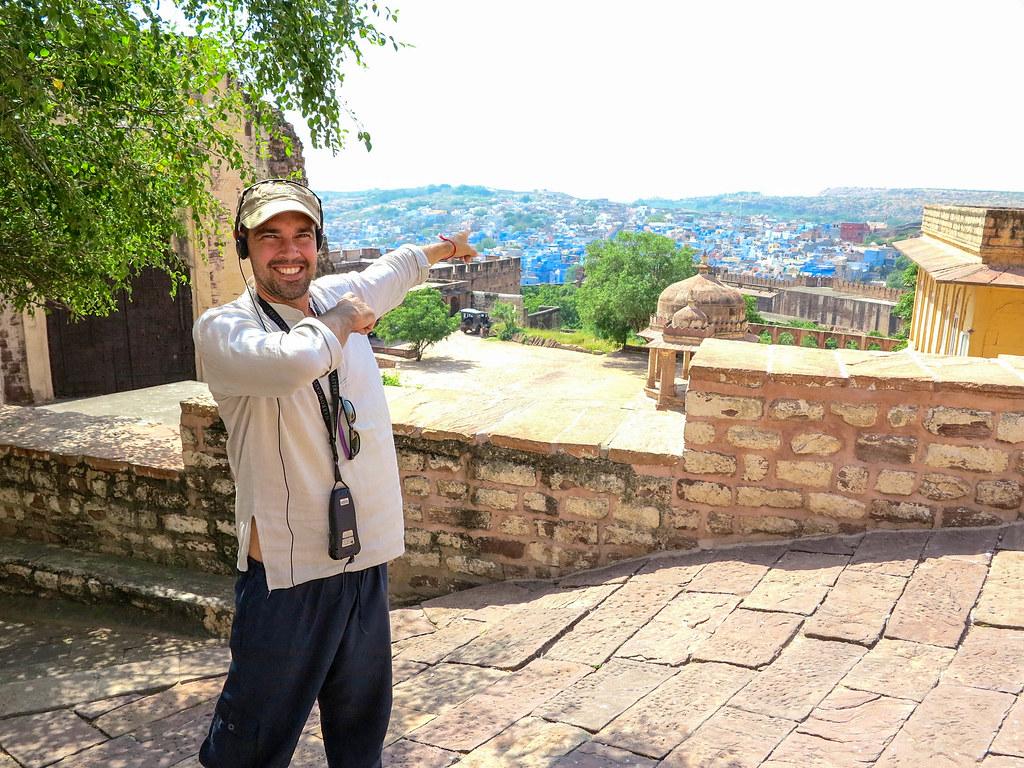 Visita a la ciudad azul de India