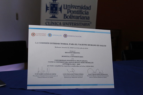La Clínica Universitaria Bolivariana se certifica como Hospital Universitario