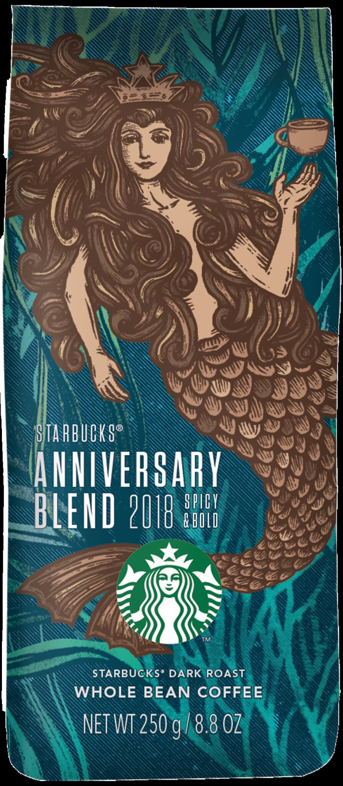 Whole Bean Starbucks Anniversary Blend