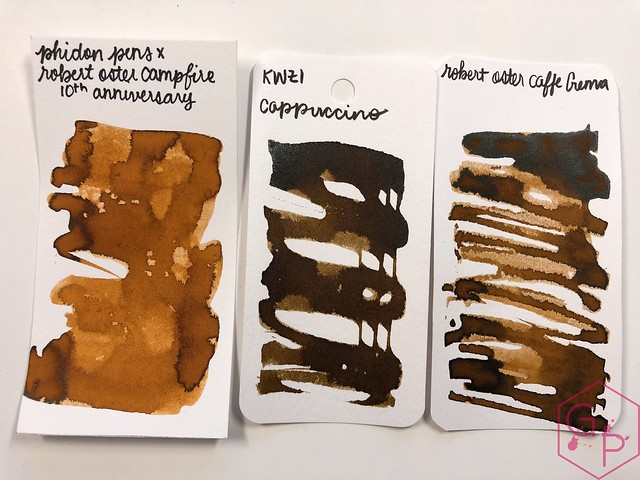 Robert Oster Campfire Ink Review for Phidon Pens 10th Anniversary 20