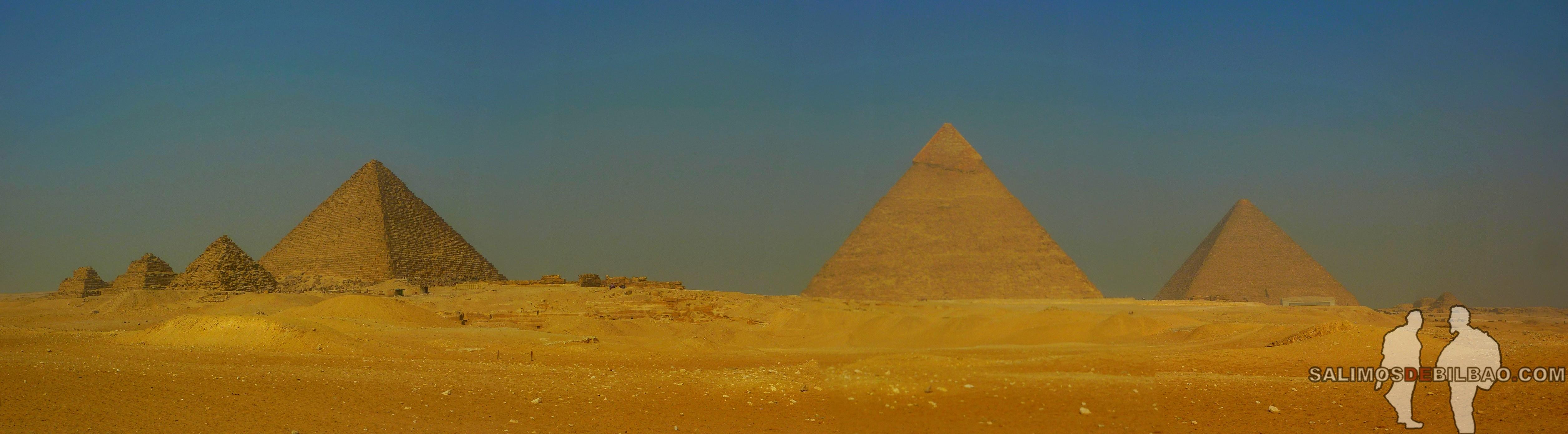 0095. Pano, Pirámides de Giza