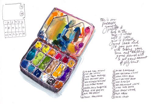 Sketchbook #114: Palettes