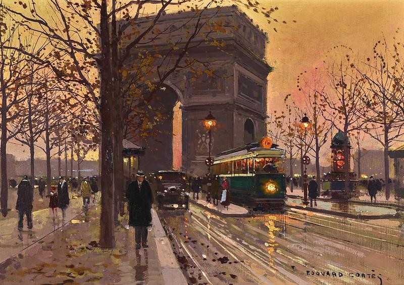Edouard Cortès - L'Arc de Triomphe