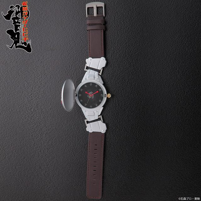 《假面騎士響鬼》假面騎士響鬼 音撃鼓裝備帶 變身造型手錶!仮面ライダー響鬼 音撃鼓装備帯 変身!腕時計【Live Action Watch】