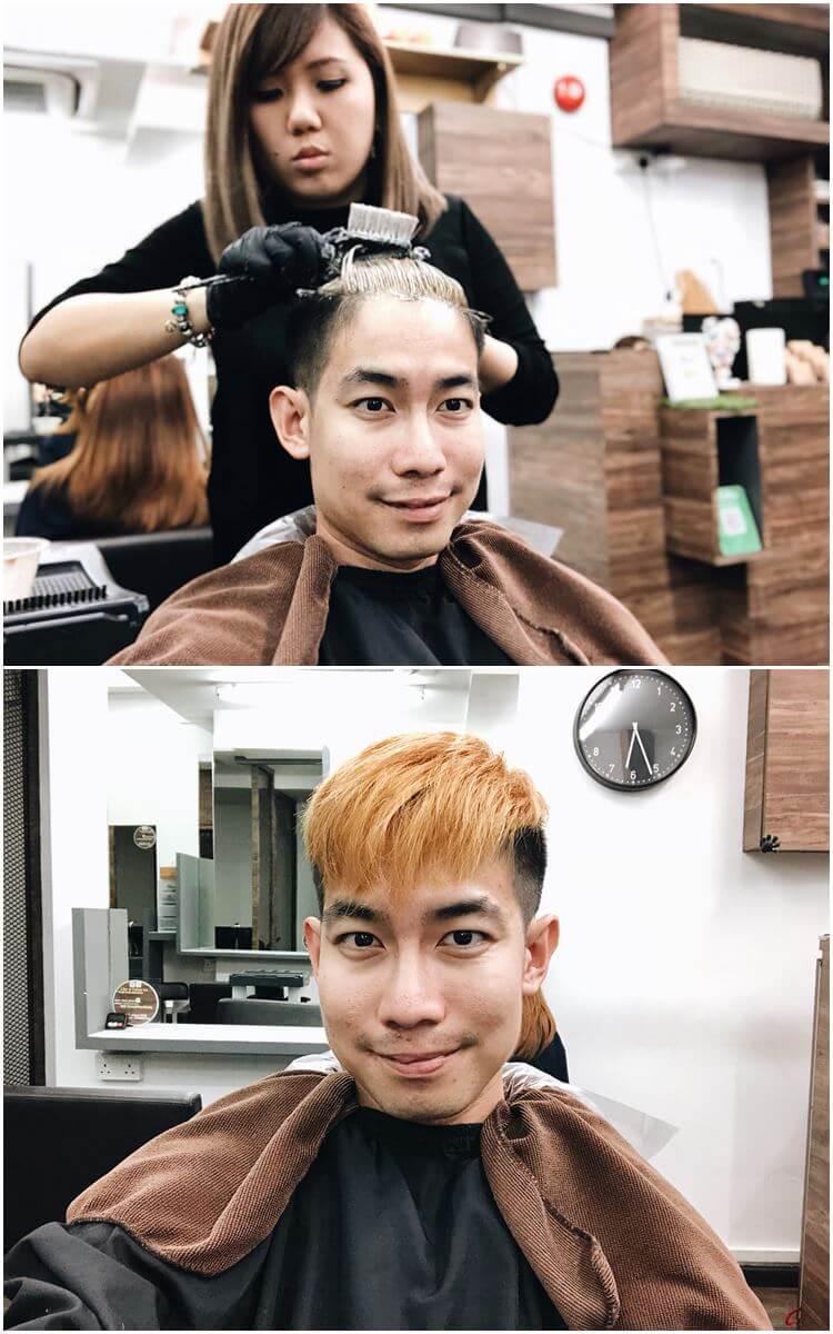 hair dye singapore