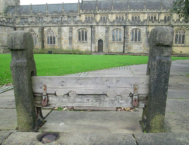Set of Stocks, St Chad's, Rochdale