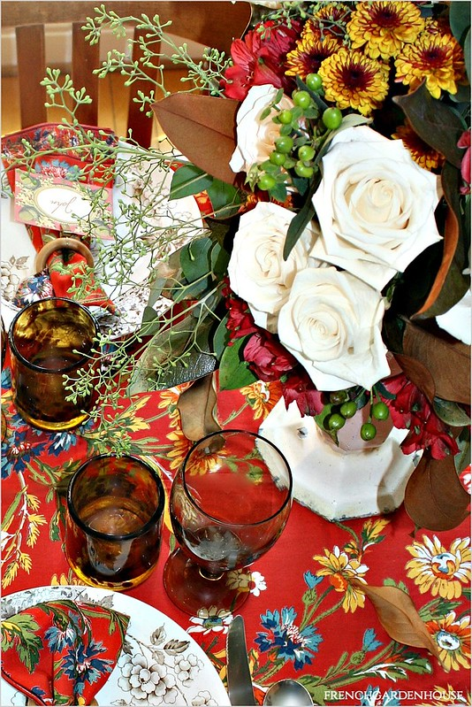 French-Country-Summer-Into-Fall-Floral-Arrangement