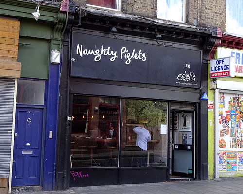 Naughty Piglets, Brixton, London SW2