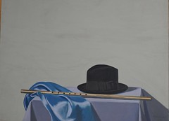 'Still Life with a Hat,' Painting by Lefteris Kanakakis, Museum of Contemporary Art, Skopje