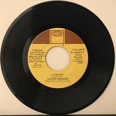 STEVIE WONDER:LIVING FOR THE CITY(RECORD SIDE-B)