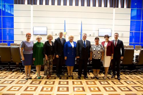 14.09.2018 Întrevedere Platforma Comună de Dialog a Doamnelor Deputate din Parlamentul Republicii Moldova - Grupul parlamentar de prietenie Estonia – Moldova