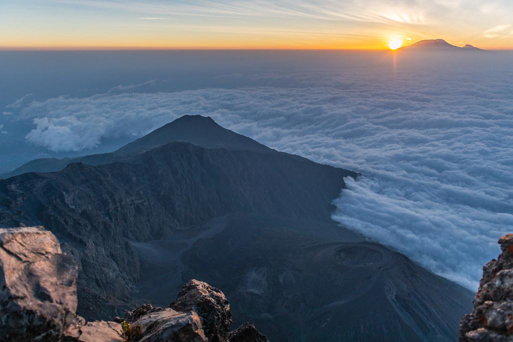 Sunrise at Mount Meru
