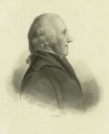 Engraving depicting American Revolutionary War general James Clinton. First published in Mary L. Booth's History of New York (1st ed. 1861, 2nd ed. 1880).