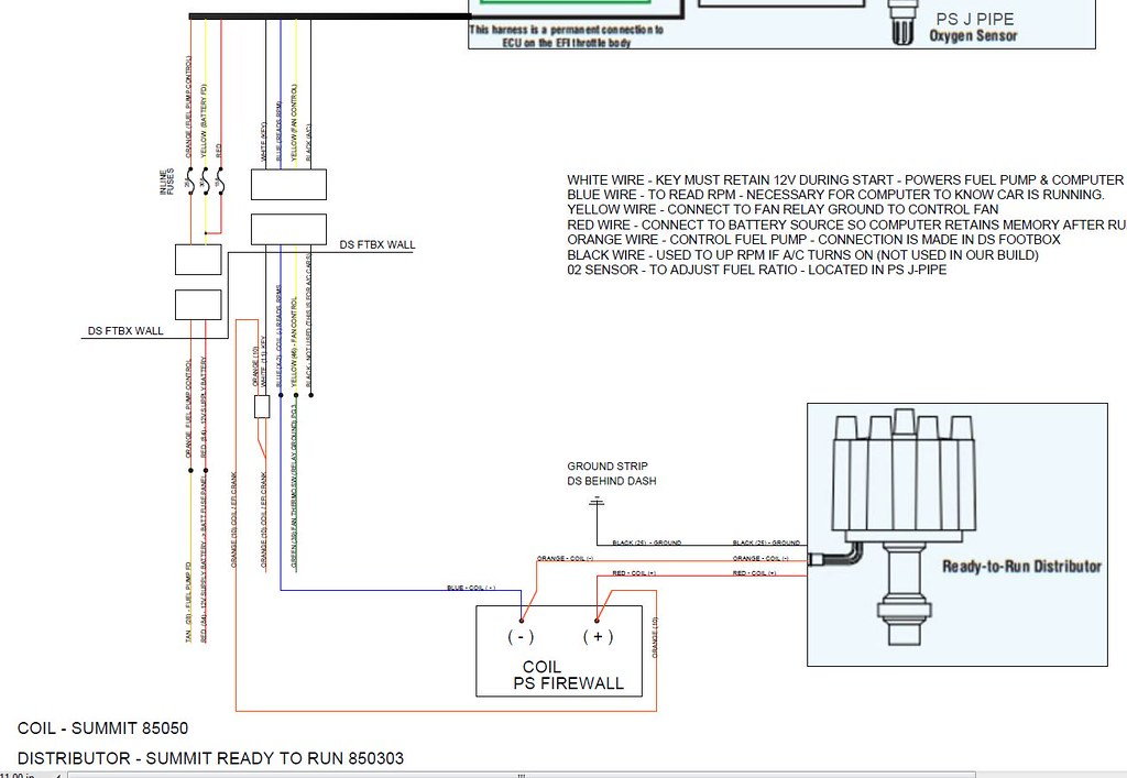 Fitech Wiring Diagram No Coil  Coil Cover  Coil Relay