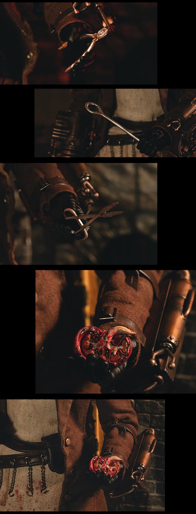 曾使倫敦陷入恐慌、殘忍至極的恐怖殺人魔!! RingToys玩界 惡名昭彰系列【開膛手傑克】Jack the Ripper 1/6 比例人偶作品 普通版 / 豪華版