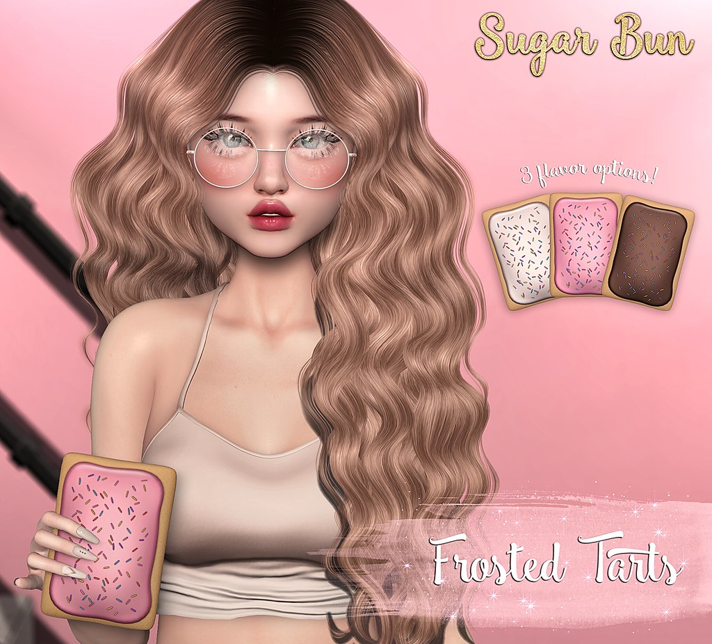 .SugarBun. Frosted Tarts @Girl Power