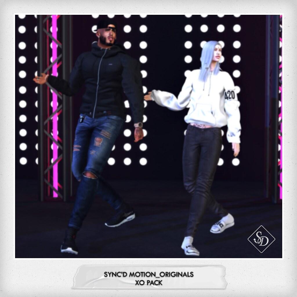 Sync'D Motion__Originals - XO
