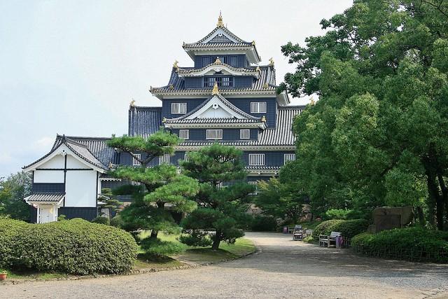 2007-07-19, Japan, Okayama Castle, Canon EOS DIGITAL REBEL XTI, Canon EF 28-105mm f/3.5-4.5 USM