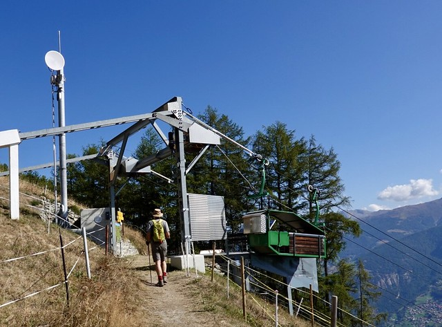 Tiniest gondola station