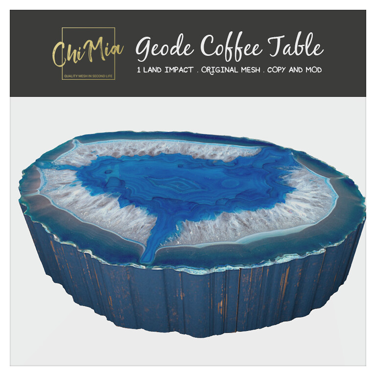 Geode Coffee Table by ChiMia