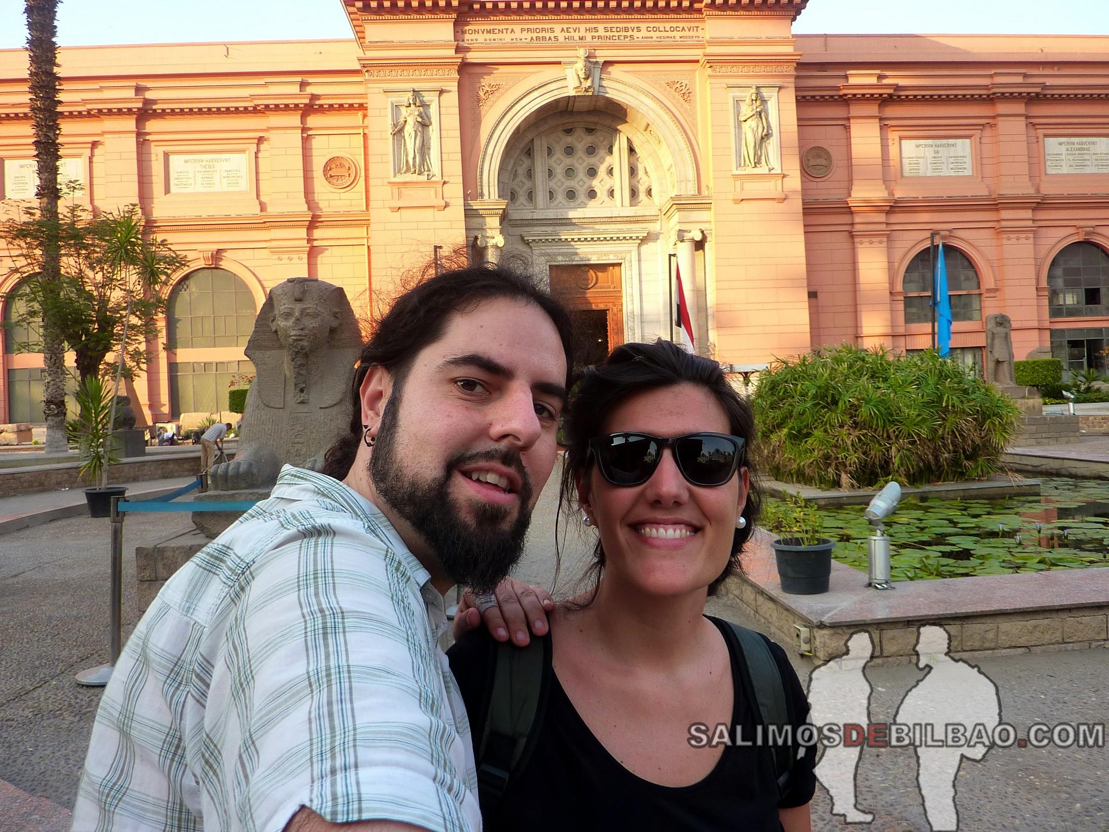0045. Katz y Saioa, Museo Egipcio del Cairo