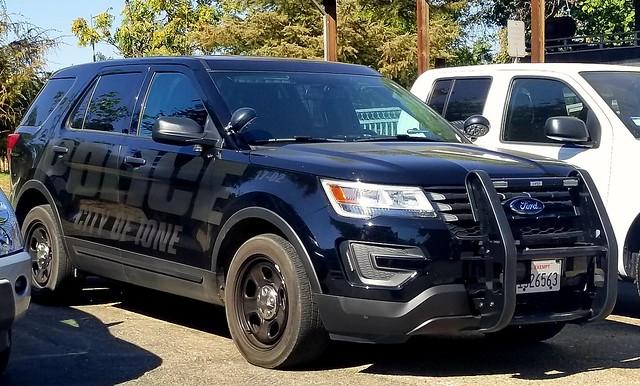 Ione Police Ford Interceptor Utility slicktop (2)