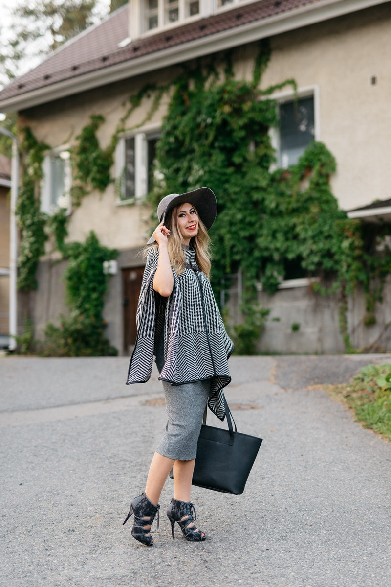 grey outfit ideas autumn