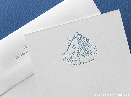 house no.70 / note cards