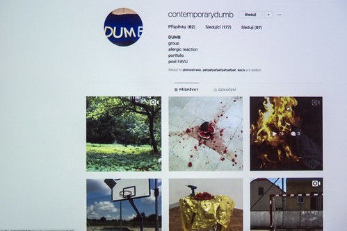 Prezentace DUMB / XY Artists in Residence